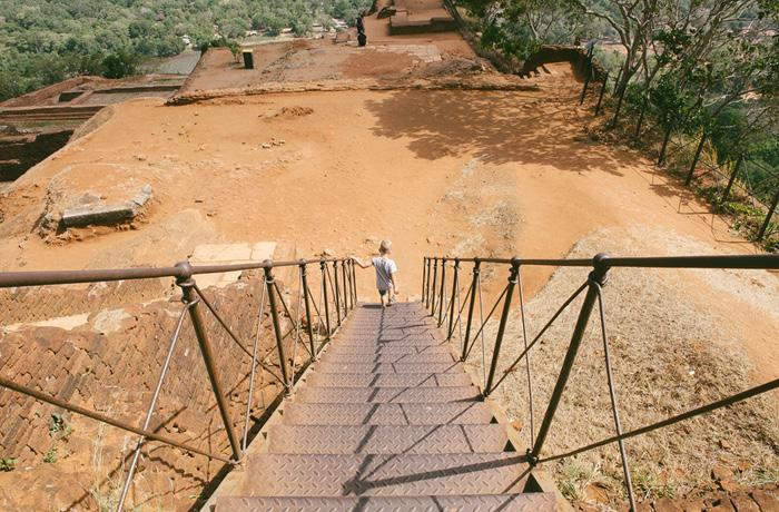 Sigiriya Sri Lanka Bild Reiseblog Antonsganzewelt Kinder16