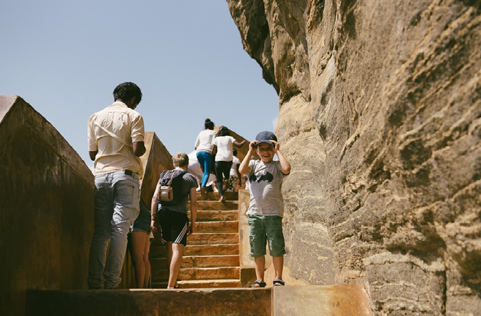 Sigiriya Sri Lanka Bild Reiseblog Antonsganzewelt Kinder6