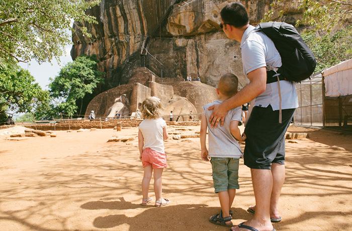 Sigiriya Sri Lanka Bild Reiseblog Antonsganzewelt Kinder9