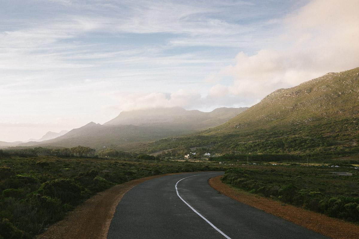 Straße Südafrika